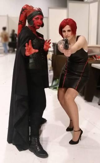 Star Wars Twi'lek Sith Cosplay, with Phoenix Cosplay as Shepard