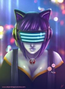 Hobbygirl - Digital Painting