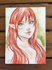 Elf - Watercolor