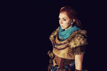 Aloy Cosplay - Photo by Lucas Terceiro