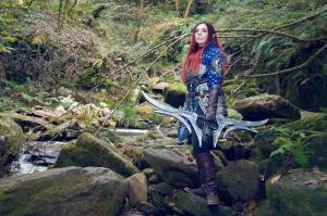 Grey Warden Cosplay, Dragon Age, Anhyra Cosplay
