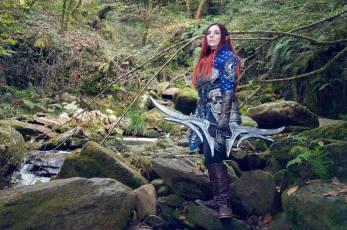 Grey Warden Cosplay, Dragon Age, Anhyra Cosplay