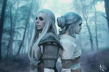 Fem Geralt - Photo and Ciri: Golondrina Art