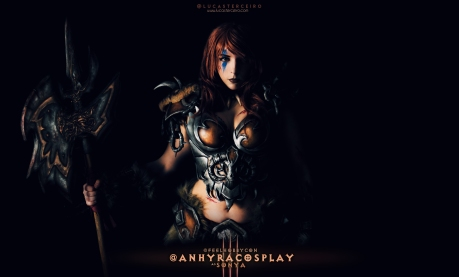 Female Barbarian Cosplay, Diablo 3, Anhyra Cosplay
