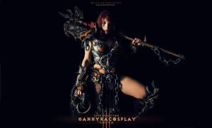 Female Barbarian Cosplay, Diablo 3