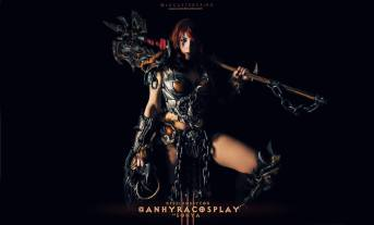Female Barbarian Cosplay, Diablo 3, AnhyraCosplay