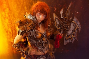 Barbarian Cosplay - Diablo 3 - AnhyraCosplay