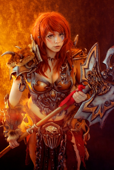 Barbarian Cosplay - Diablo 3