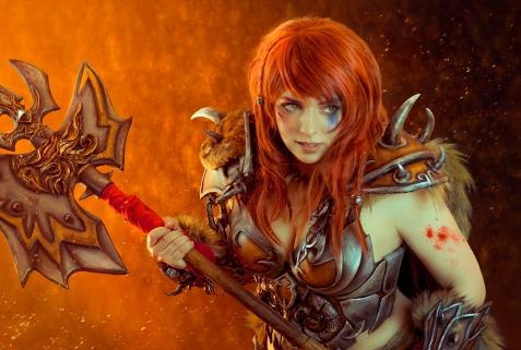 Barbarian Cosplay - Diablo 3 - AnhyraCosplay