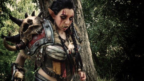 Mag'har Orc cosplay - Anhyra Cosplay