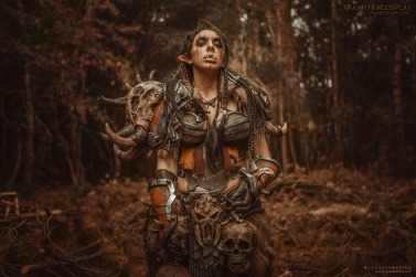 Mag'har Orc - World of Warcraft, Anhyra Cosplay