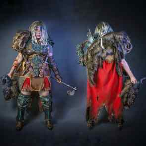 Barbarian cosplay from Diablo IV