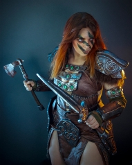 Aela Cosplay by Anhyra